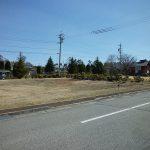 前面道路南西側からの物件(2018年4月)