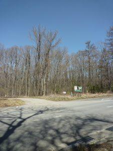南側から物件を撮影(2018年4月)