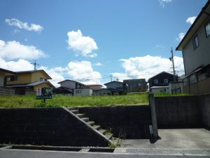 前面道路から撮影(2018年5月)