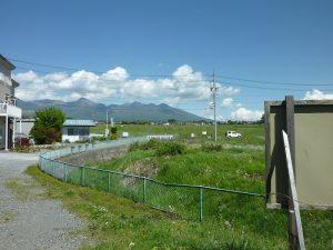 物件から東方向の八ヶ岳の眺望