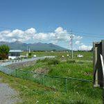 物件から東方向に八ヶ岳の眺望(2018年5月)