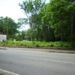 前面道路東側から撮影(2018年7月)