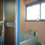 風呂と洗面所(1階)