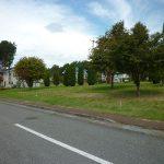 前面道路から撮影(2018年9月)