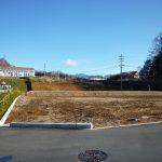 物件東方向の八ケ岳の眺望(2018年12月)
