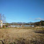 物件東側の八ケ岳の眺望(2018年12月)