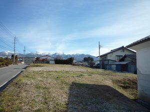 東方向の八ケ岳の眺望(2018年12月)