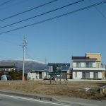 物件北方向を撮影・車山の眺望(2019年1月)