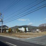 南側道路から南西方向を撮影(2019年1月)