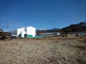 物件東方向を撮影・八ケ岳の眺望(2019年2月)