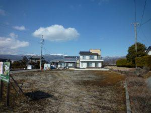 北方向を撮影・車山の眺望(2019年3月)
