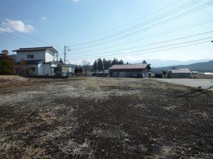 前面道路より南方向を撮影(2019年3月)