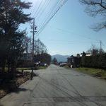 物件前道路から西方向を撮影(2019年4月)