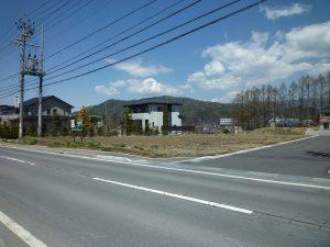 南側道路南側から撮影(2019年4月)