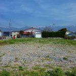 物件東方向を撮影・八ケ岳の眺望(2019年4月)