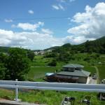 現地南側の風景(2016年6月)